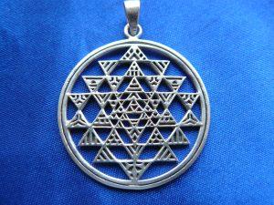 Medalion Shri Yantra